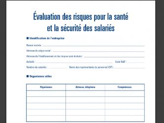 06750b3959c Formation CHSCT Elaboration du Document Unique d évaluation des ...