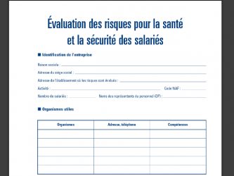 Formation Elaboration du Document Unique